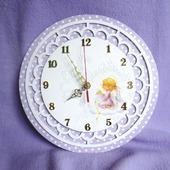 """""""Дочкино счастье"""" Настенные часы для детской"""