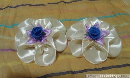 Кремовые розы ручной работы на заказ
