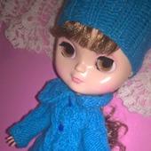Пальто и шапочка для Блайз
