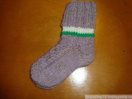 Детские носочки ручной работы на заказ