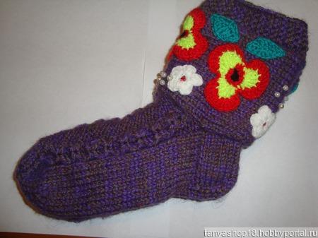 Носки женские ручной работы на заказ