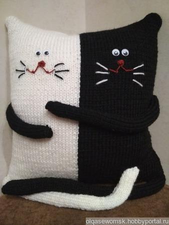 Влюбленные коты ручной работы на заказ