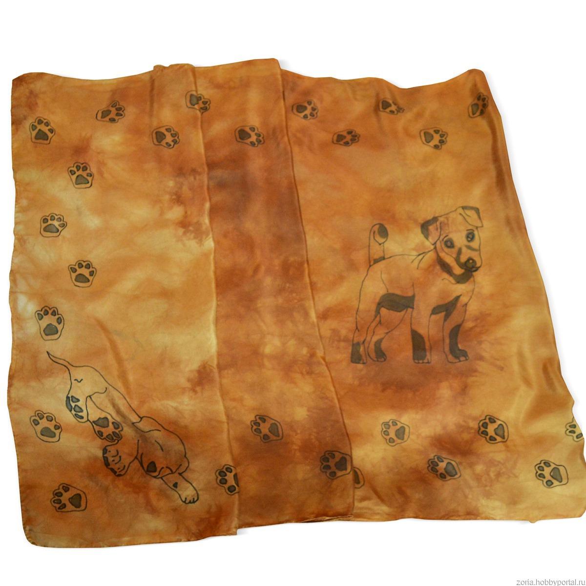 fcee7e17b1c2 Шелковый шарф батик