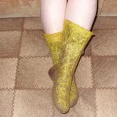 """Валяные носочки """"Тепло и комфорт"""""""