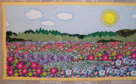 Море цветов ручной работы на заказ