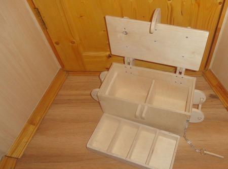 Ящик с отделениями. Сундук органайзер ручной работы на заказ