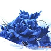 Роза брошь из замши Ингрид украшение