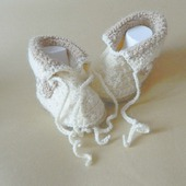 Пинетки - ботиночки Мишки