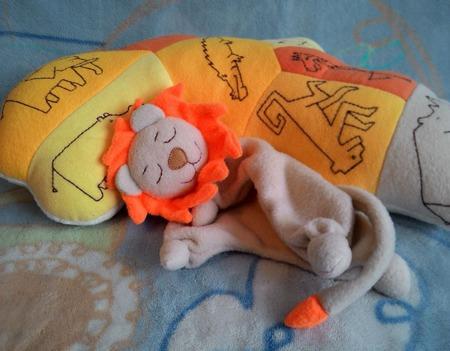 Комфортер львенок Соня ручной работы на заказ