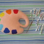 Подушка-игрушка Палитра