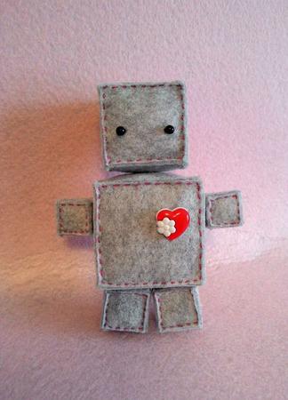 Роботы Роберт и Робертина ручной работы на заказ
