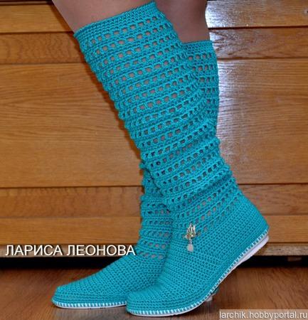 Сапожки на красивые ножки ручной работы на заказ