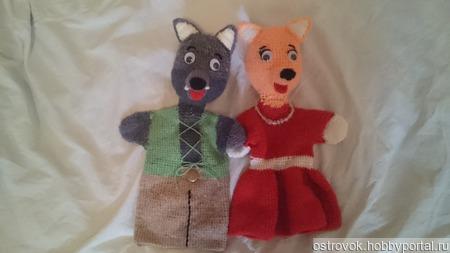Куклы - перчатки ручной работы на заказ