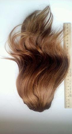 Шиньон из натуральных волос ручной работы на заказ