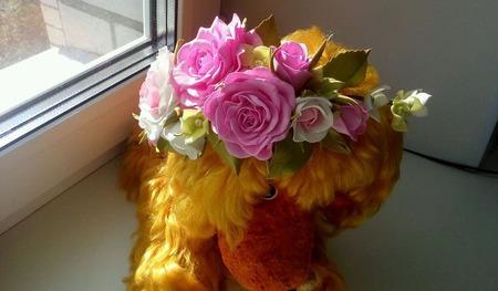 Венок для невесты из роз Ручной работы ручной работы на заказ