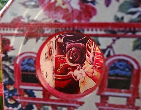 Чайный домик Феечка с вареньем. Декупаж чайного домика ручной работы на заказ