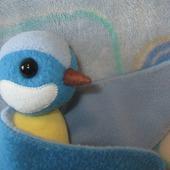 Игрушка-талисман комфортер Синичка