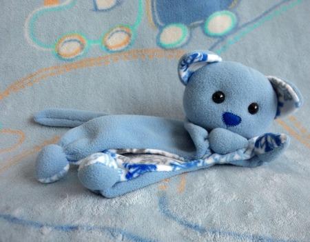 Комфортер котенок Снежинка ручной работы на заказ