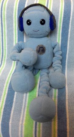 Кукла робот Денни ручной работы на заказ