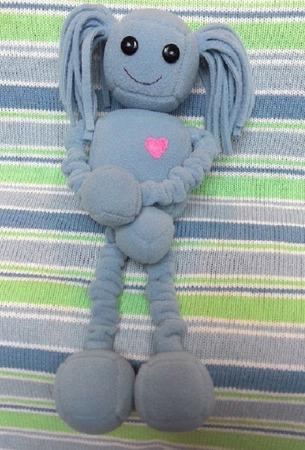 Кукла робот Даша ручной работы на заказ
