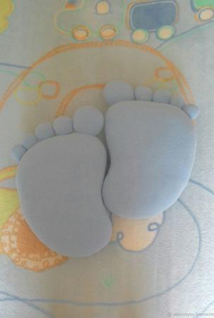 Подушки-игрушки Пяточки ручной работы на заказ