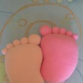 Подушки-игрушки Пяточки
