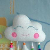 Тактильная игрушка Облачко