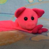 Мягкие игрушки-комфортеры для самых маленьких