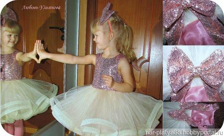 """Стильное платье""""Кукла"""" ручной работы на заказ"""