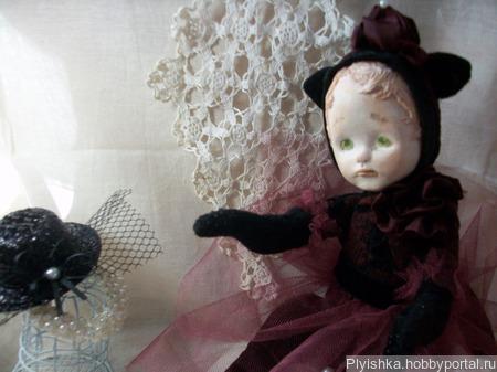 Балерина , котороя любит черничное варенье) ручной работы на заказ