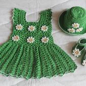 Платье для малышки от 6 мес. до 1 года