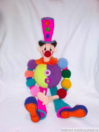 Клоун Вася ручной работы на заказ