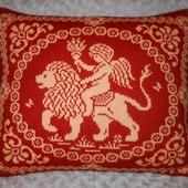Декоративные подушки с ангелами