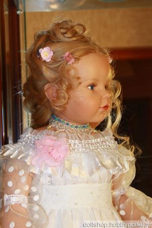 Праздничный наряд для большой куклы ручной работы на заказ
