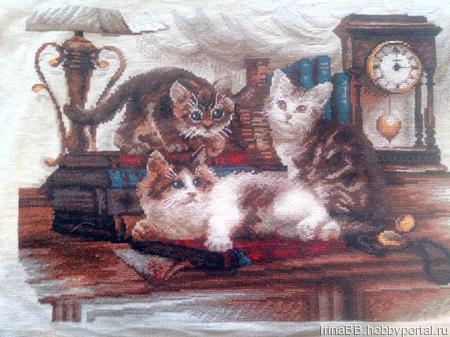 Озорные котята ручной работы на заказ