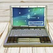 Ноутбук из конфет