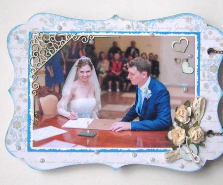 Свадебный альбом ручной работы на заказ