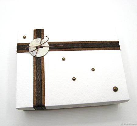 Подарочные коробочки для закладок ручной работы на заказ