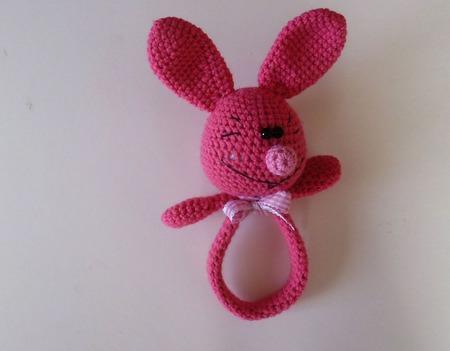 Погремушка-для малышей игрушка ручной работы на заказ
