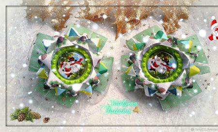 Бантики Новогодние ручной работы на заказ