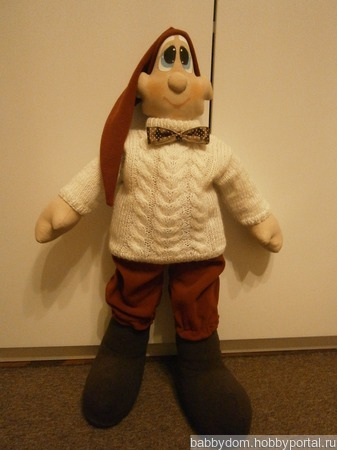 Кукла гномик Стёпа ручной работы на заказ
