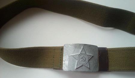 Раритетный армейский ремень СССР ручной работы на заказ