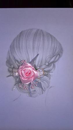 Заколка-зажим для волос ручной работы на заказ