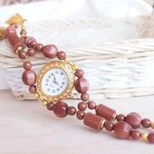 """""""Золотые пески"""" часы наручные, женские"""