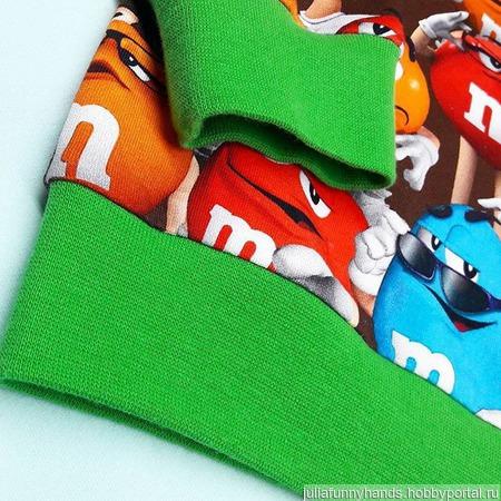 Свитшоты и комплекты M`Ms ручной работы на заказ