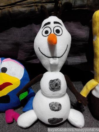 Снеговик Олаф ручной работы на заказ