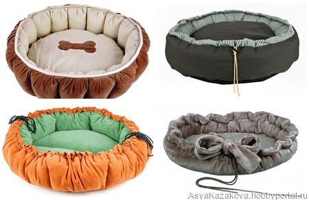 Лежак для животных ручной работы на заказ