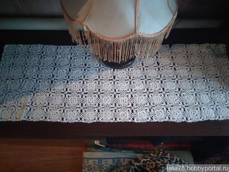 Скатерть-салфетка ручной работы на заказ