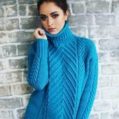 Купить вязаный свитер оверсайз в Москве