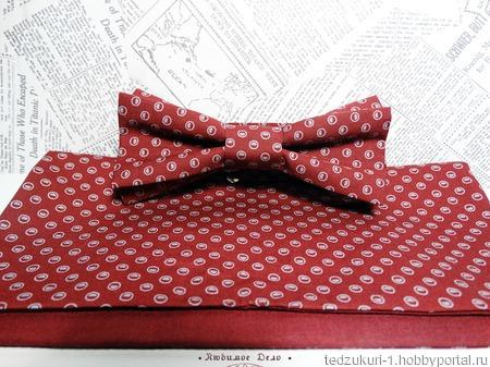 """Комплект №742 """"Бордо орнамент"""" ручной работы на заказ"""